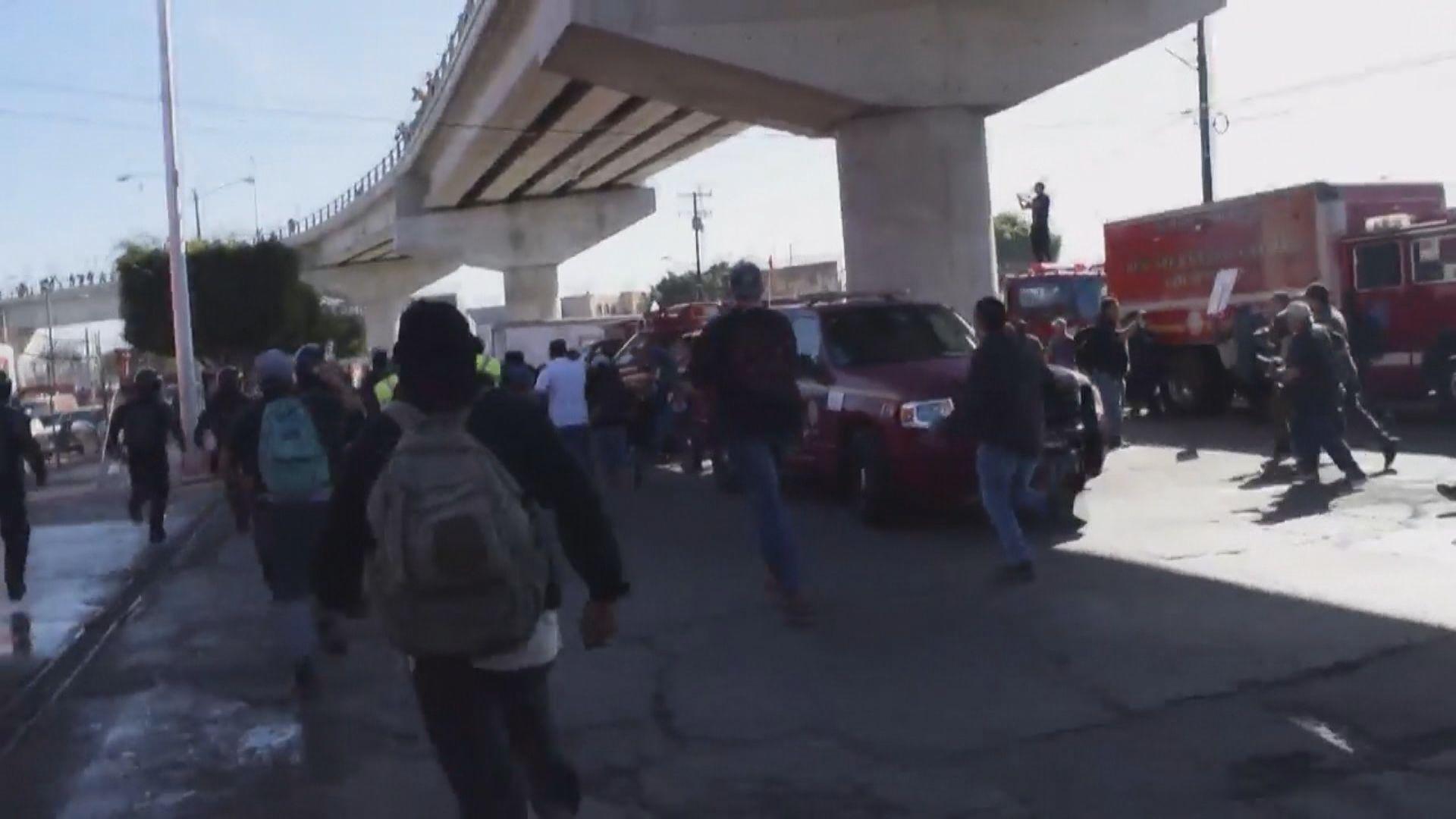 中美洲難民圖越境美國遭驅趕
