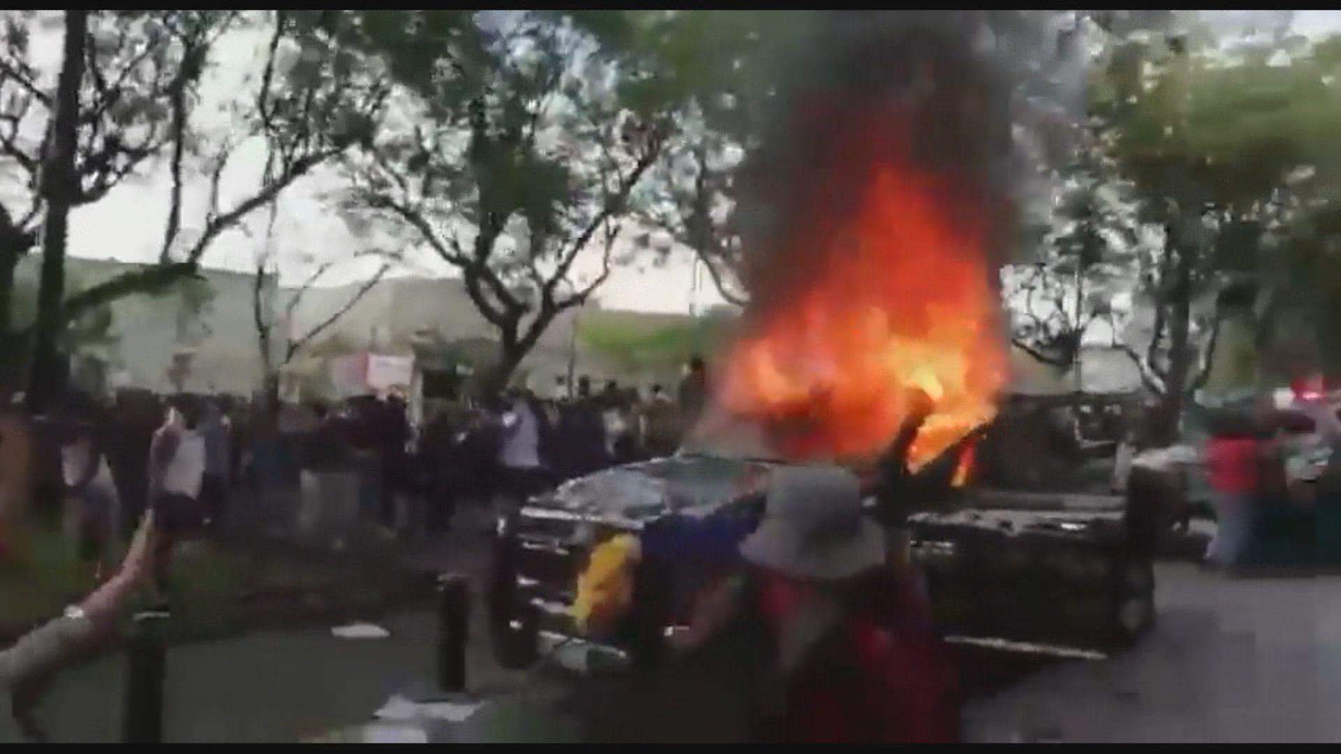 墨西哥男子因沒戴口罩疑遭警虐待致死觸發騷亂