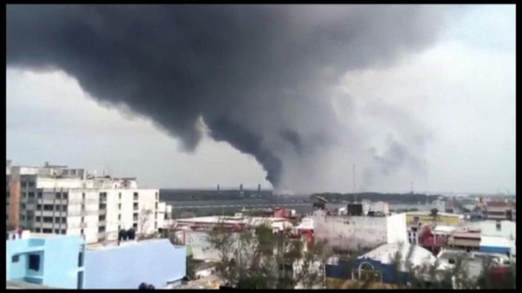 墨西哥化工廠爆炸三死百多人傷