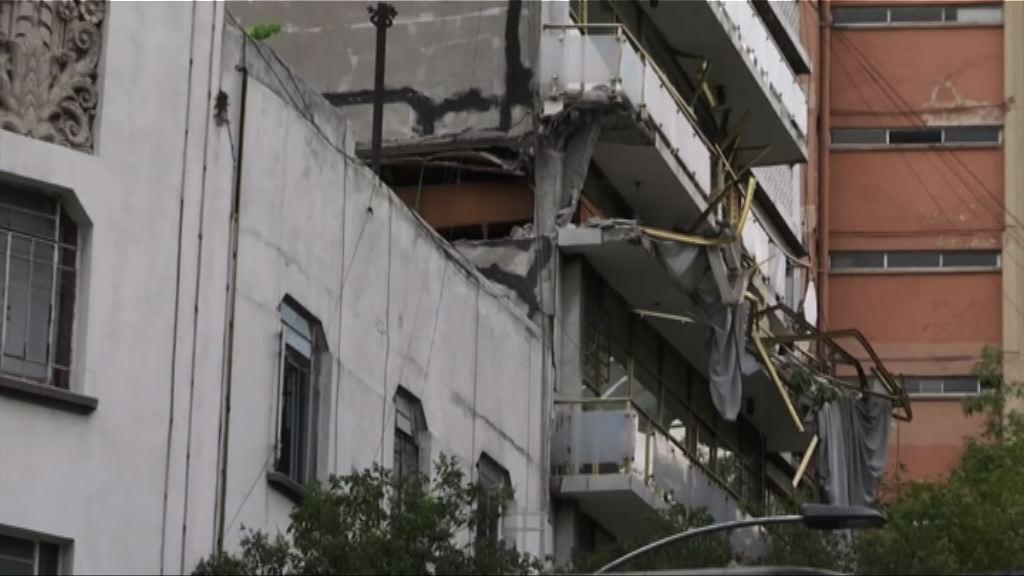墨西哥6.1級地震釀五死