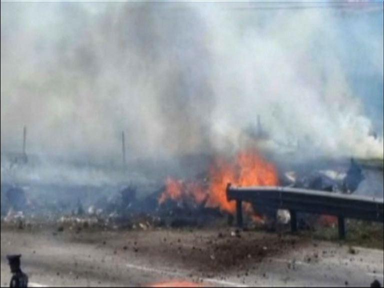 墨西哥小型飛機墜毀五人死亡