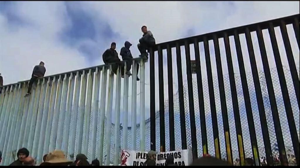 特朗普促墨西哥阻止難民到邊境闖關