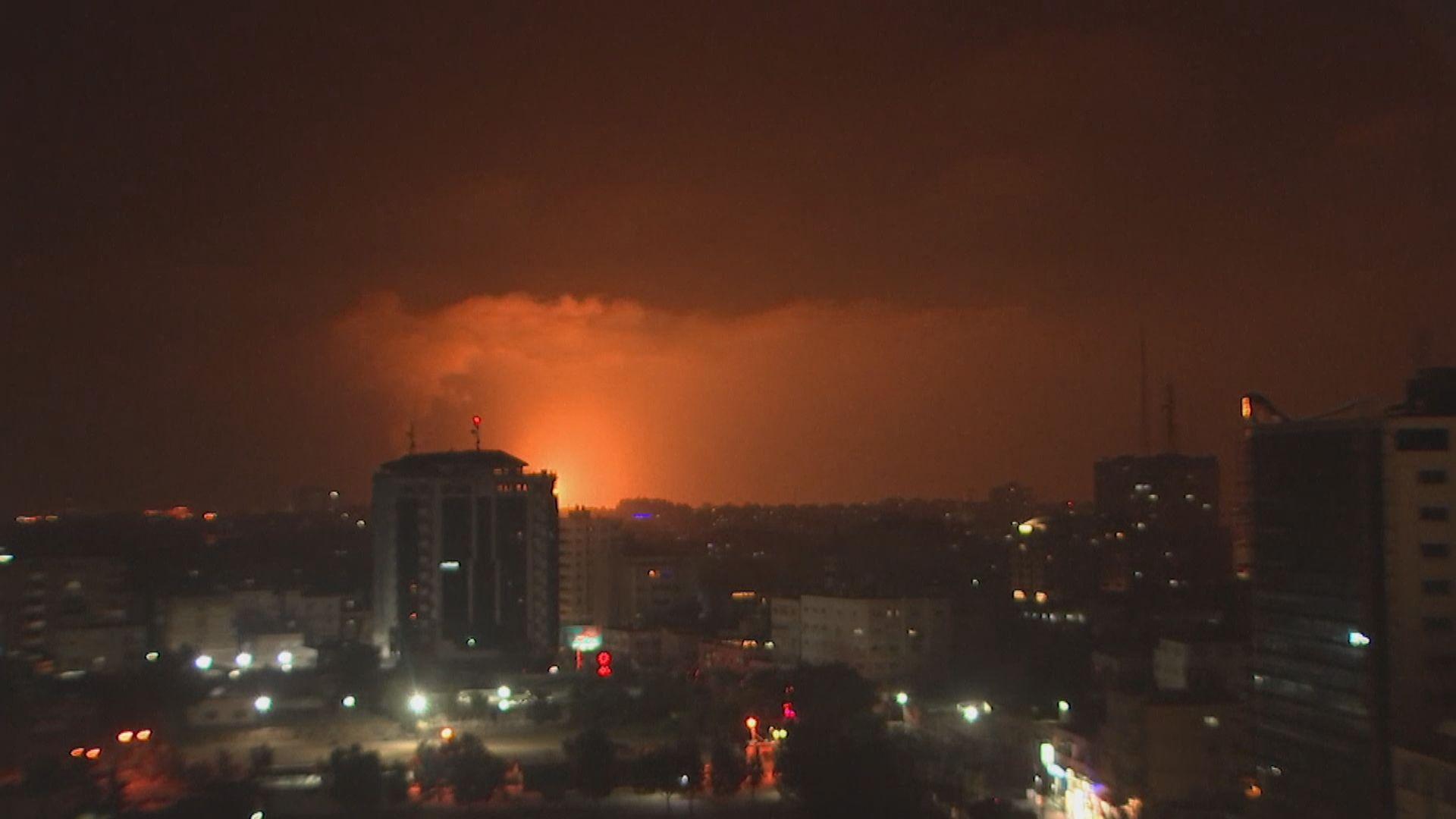 巴勒斯坦:以軍空襲行動導致最少20人死亡