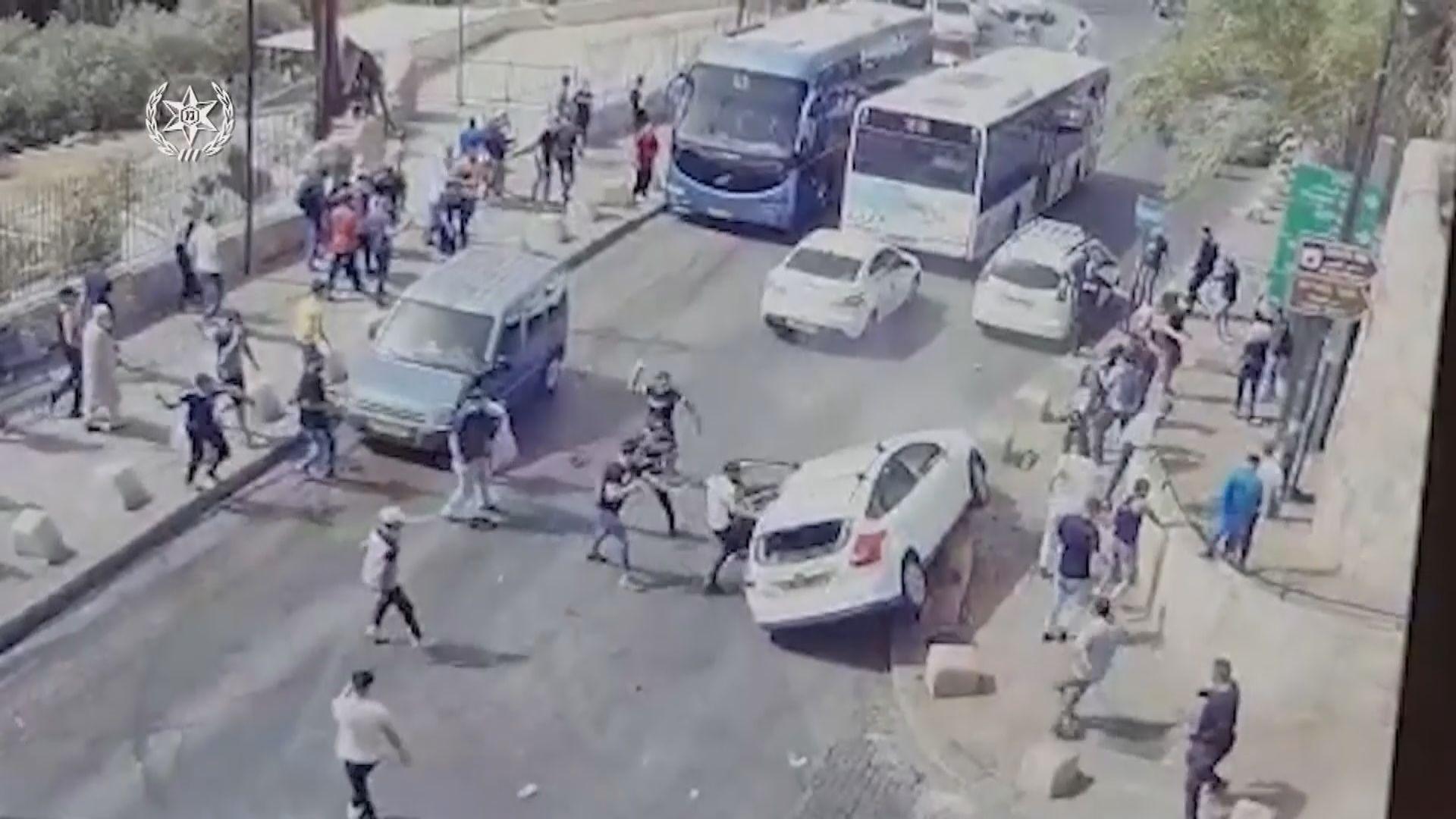 以巴局勢升溫 耶路撒冷城內連日爆發衝突