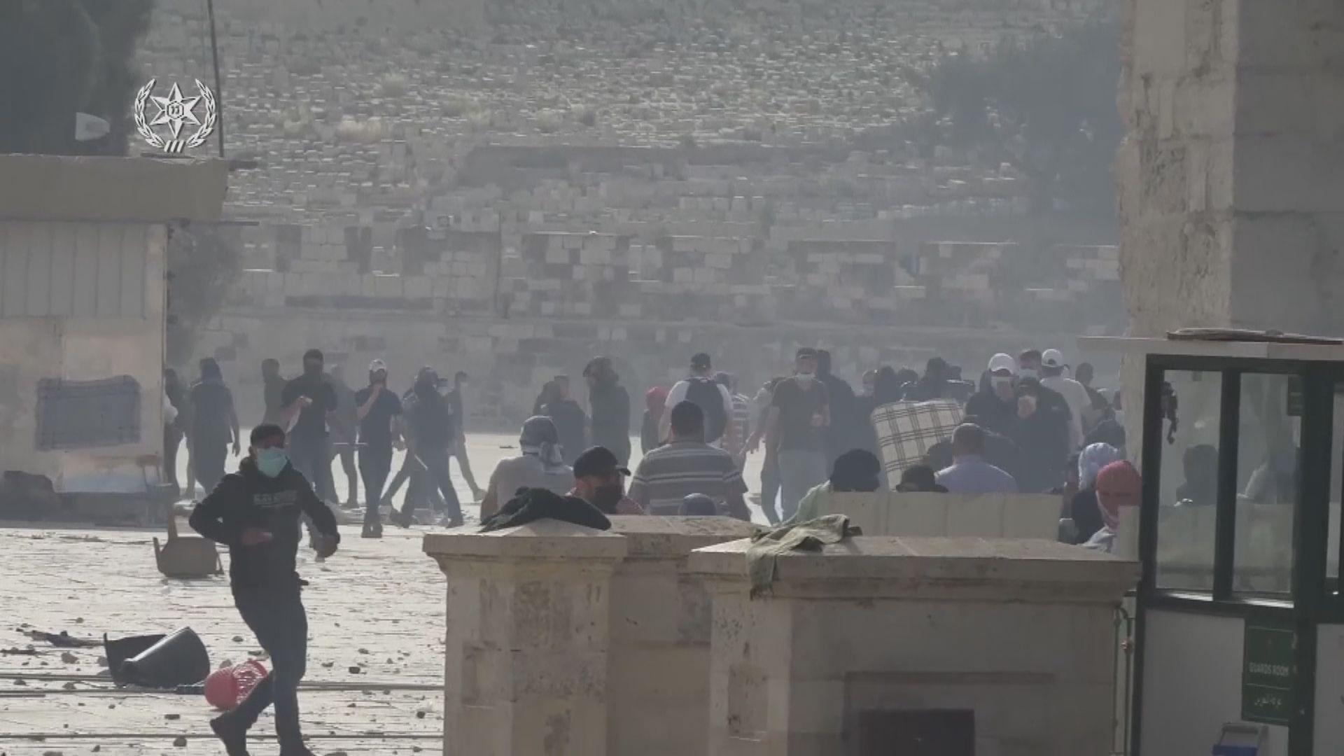 以巴耶路撒冷衝突 據報周一逾200名巴勒斯坦人受傷