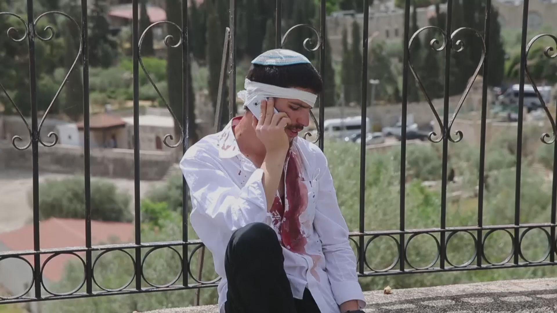 以巴衝突升溫 巴勒斯坦激進組織發射火箭襲擊耶路撤冷城區