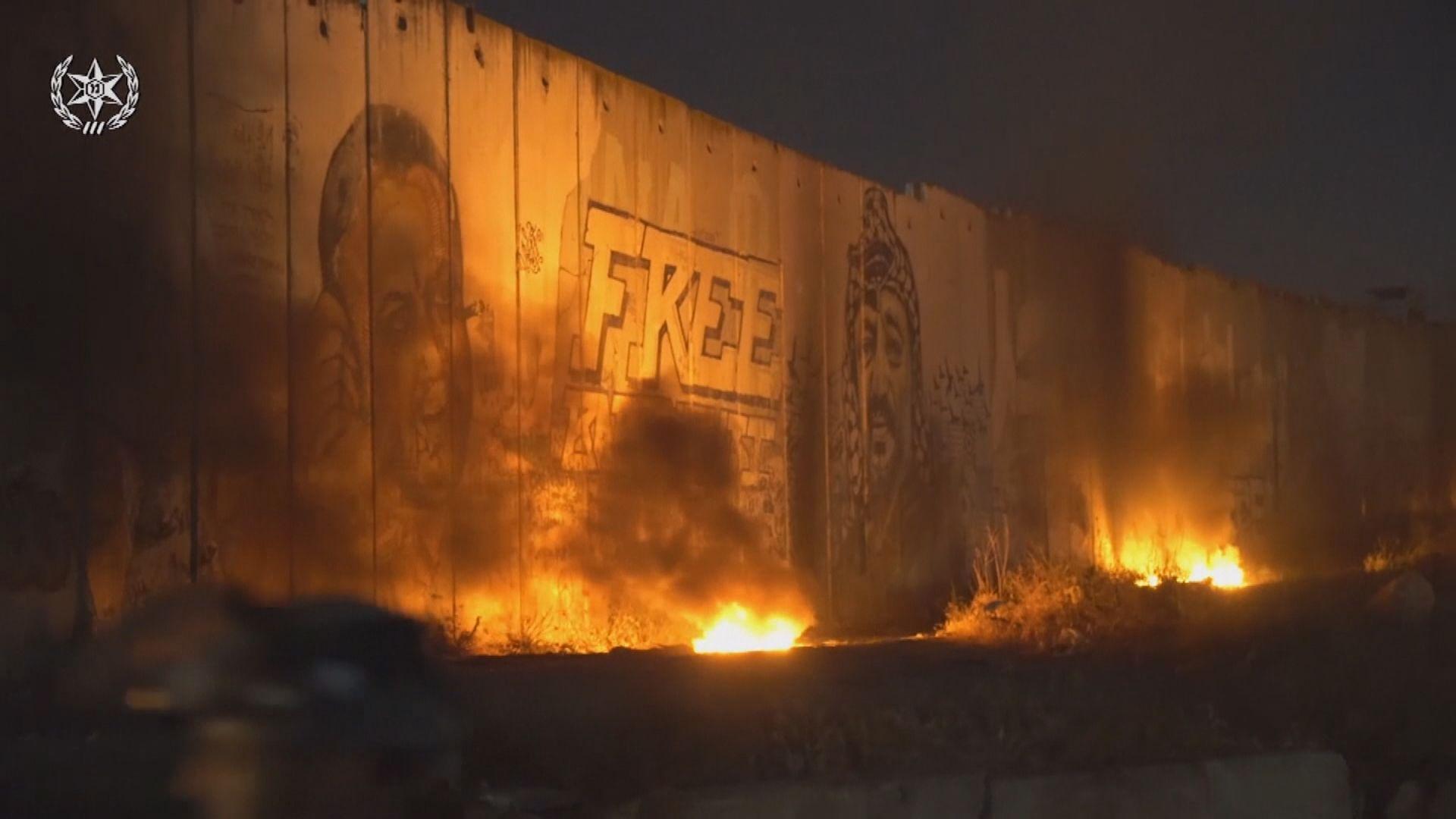 以色列空襲加沙 摧毀哈馬斯辦公室大樓