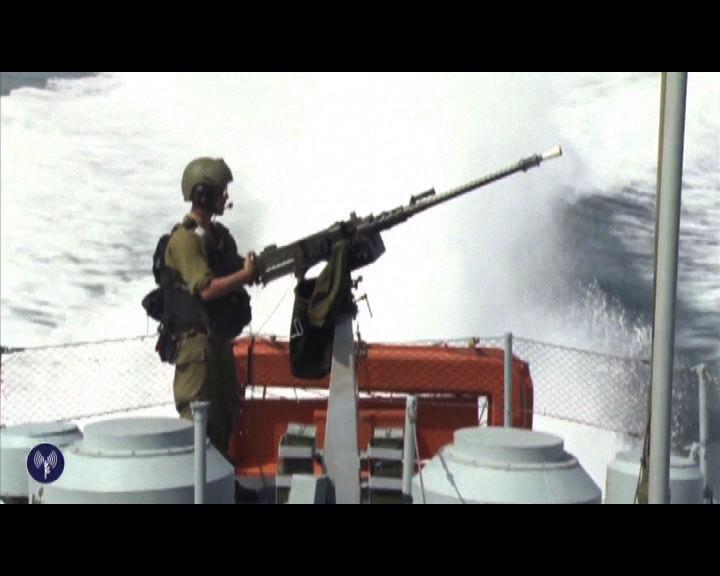 以軍派突擊隊進入加沙地區