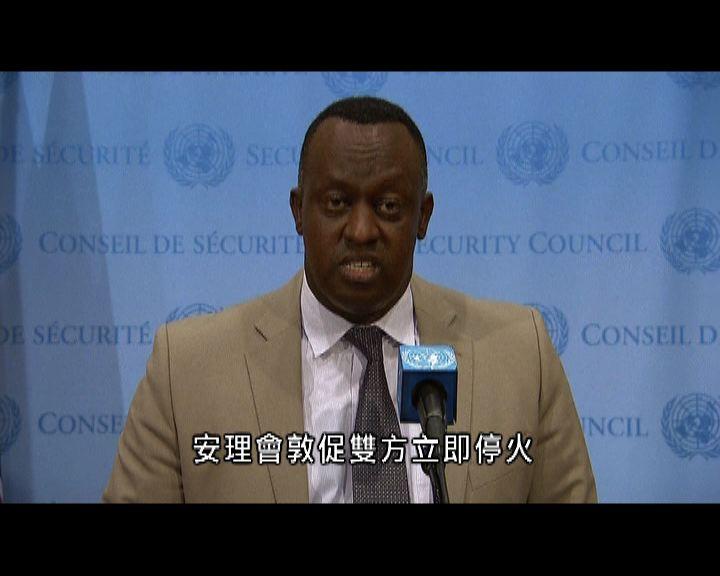 聯合國安理會要求以巴停火