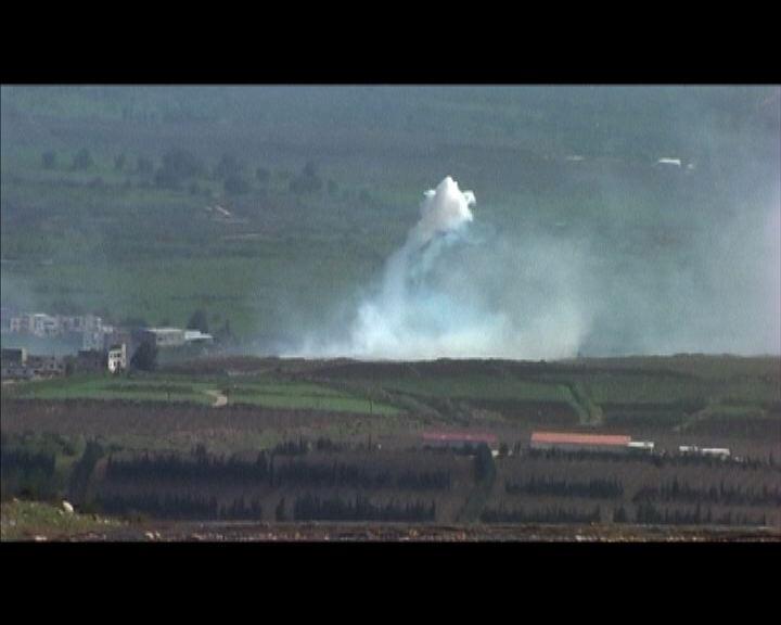 以色列黎巴嫩於邊境互相炮轟