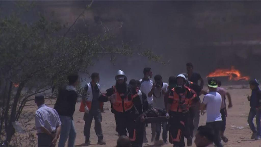 加沙數千巴勒斯坦人示威再釀死傷