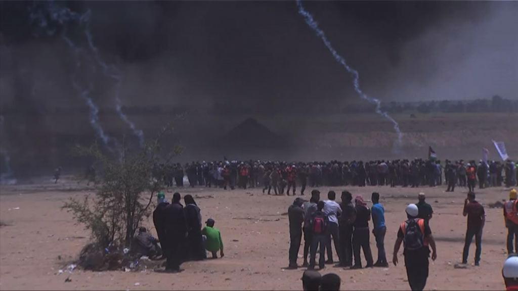 加沙邊境示威 以軍被指向示威者發射實彈