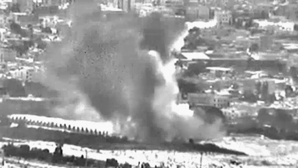 以軍空襲加沙報復哈馬斯攻擊 最少兩死