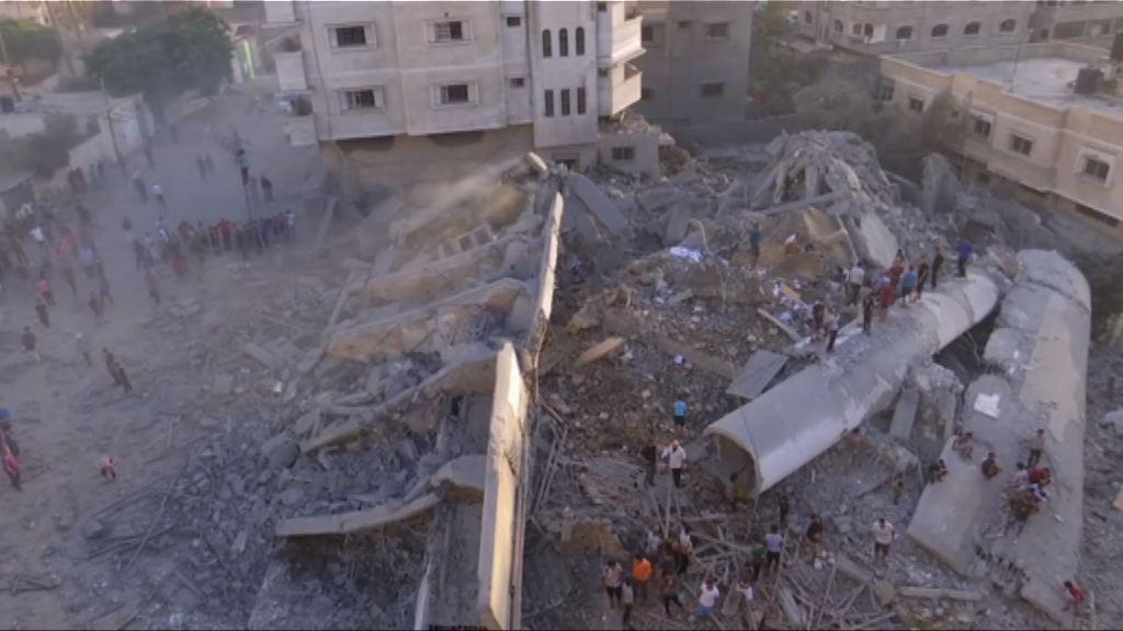 以色列報復哈馬斯攻擊加沙多人傷