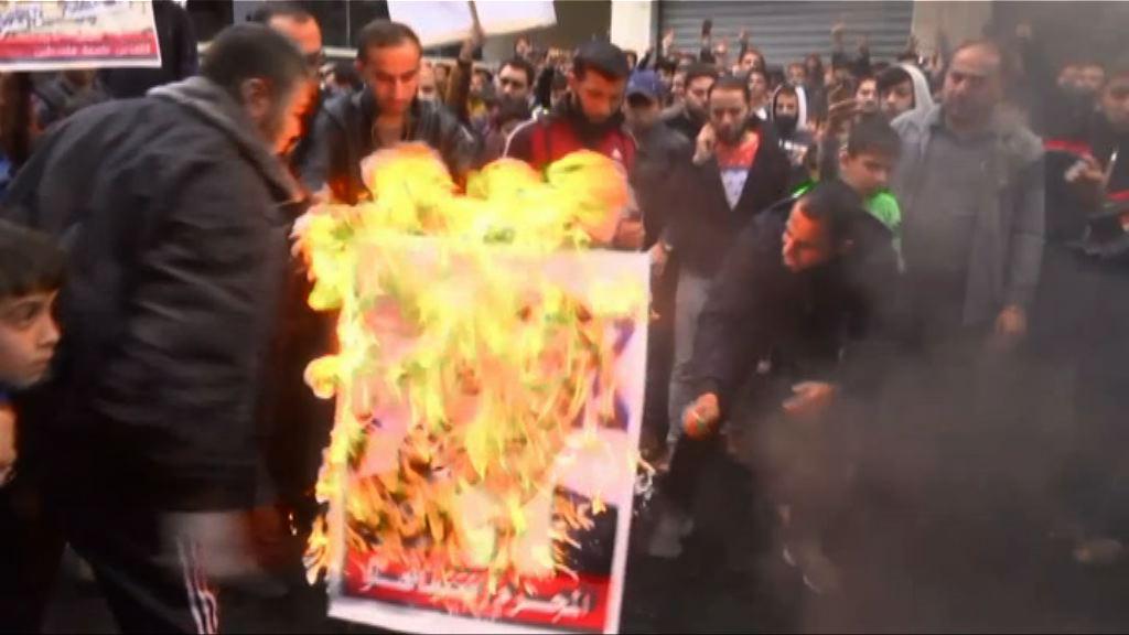 巴人反美示威與以軍警爆衝突