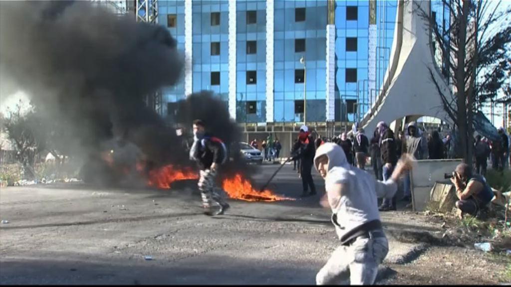 巴勒斯坦人反美示威與以軍警爆衝突