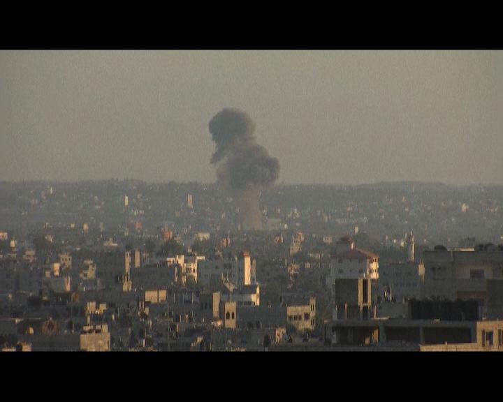 停火談判破裂加沙再遭以空襲