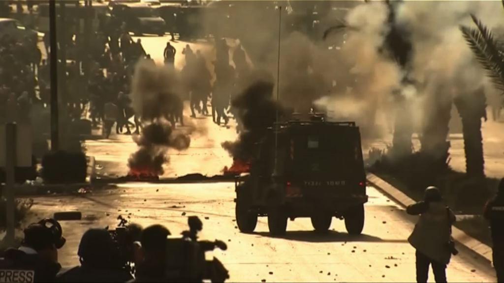 巴人與以色列警方再爆發衝突