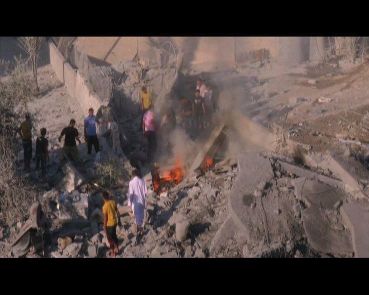 以軍空襲擊中哈馬斯領袖寓所
