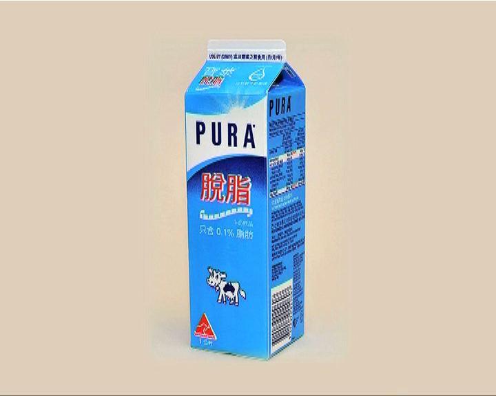 寶萊脫脂牛奶含菌量超標
