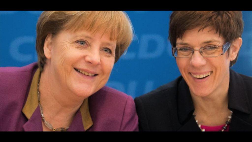 德國薩爾州州長被稱為「小默克爾」