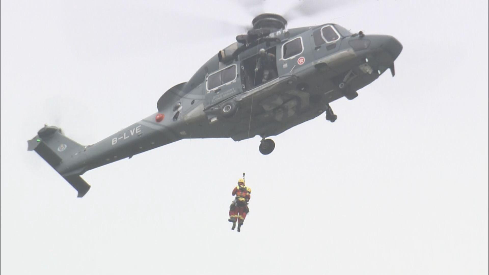 搜救人員繼續在飛鵝山搜尋懷疑行山失蹤女子