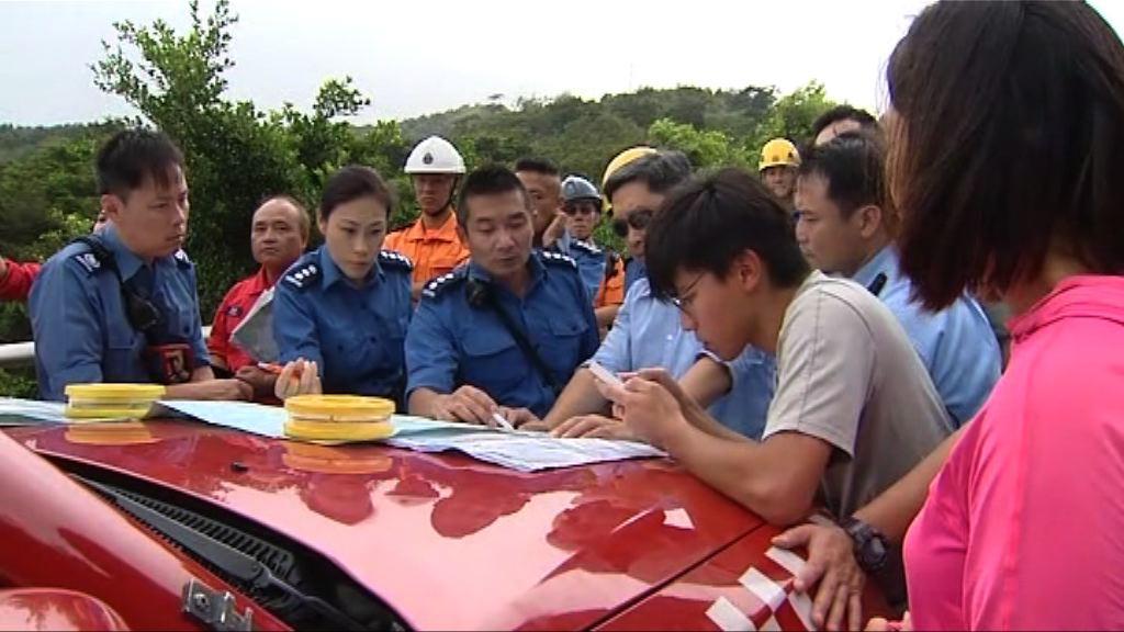 搜救人員續搜索大嶼山玩滑翔傘後失蹤男子