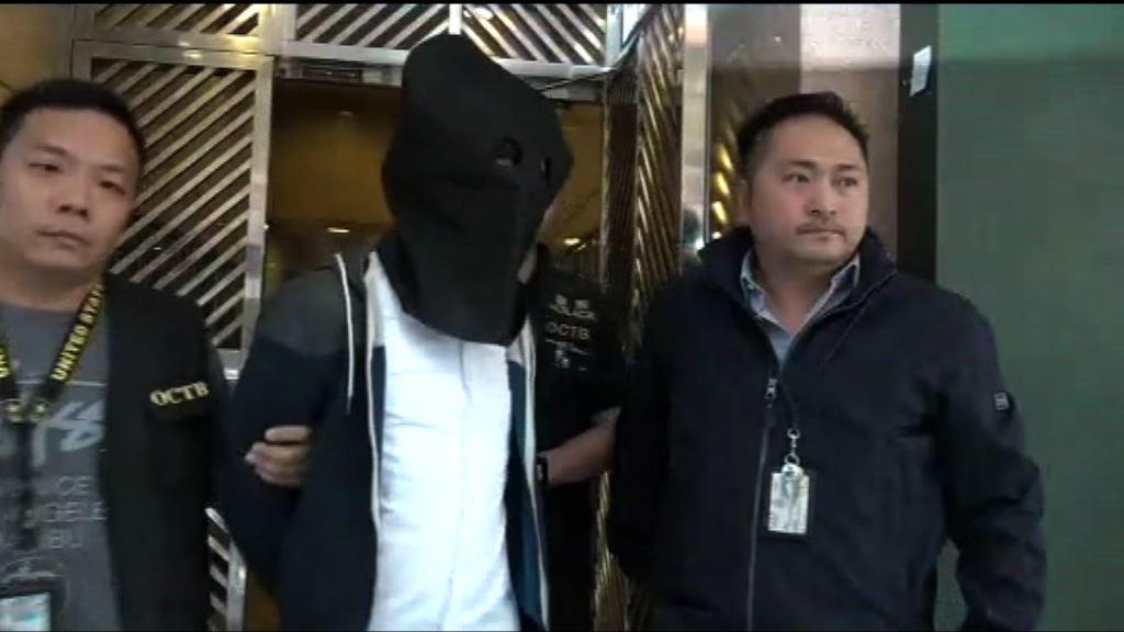一名男子涉嫌參與旺角騷亂被捕