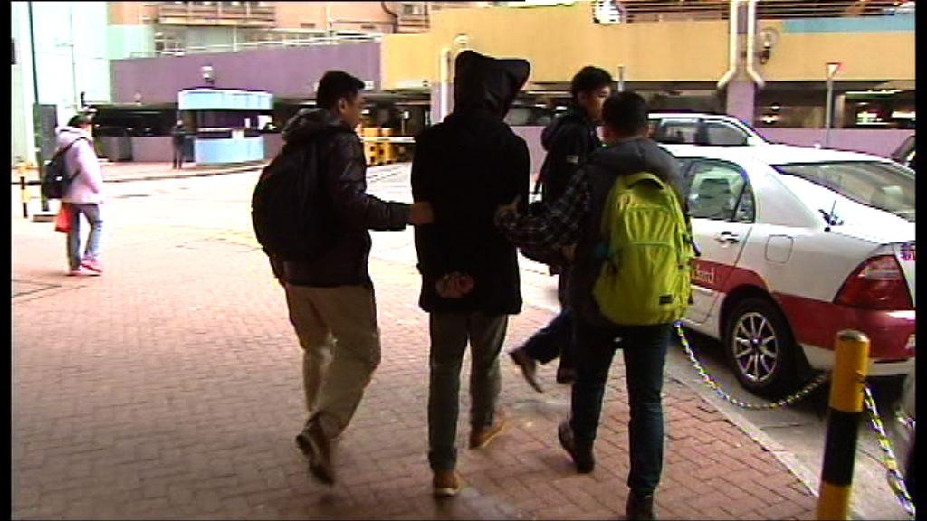 一名男子涉發布毆記者言論被捕