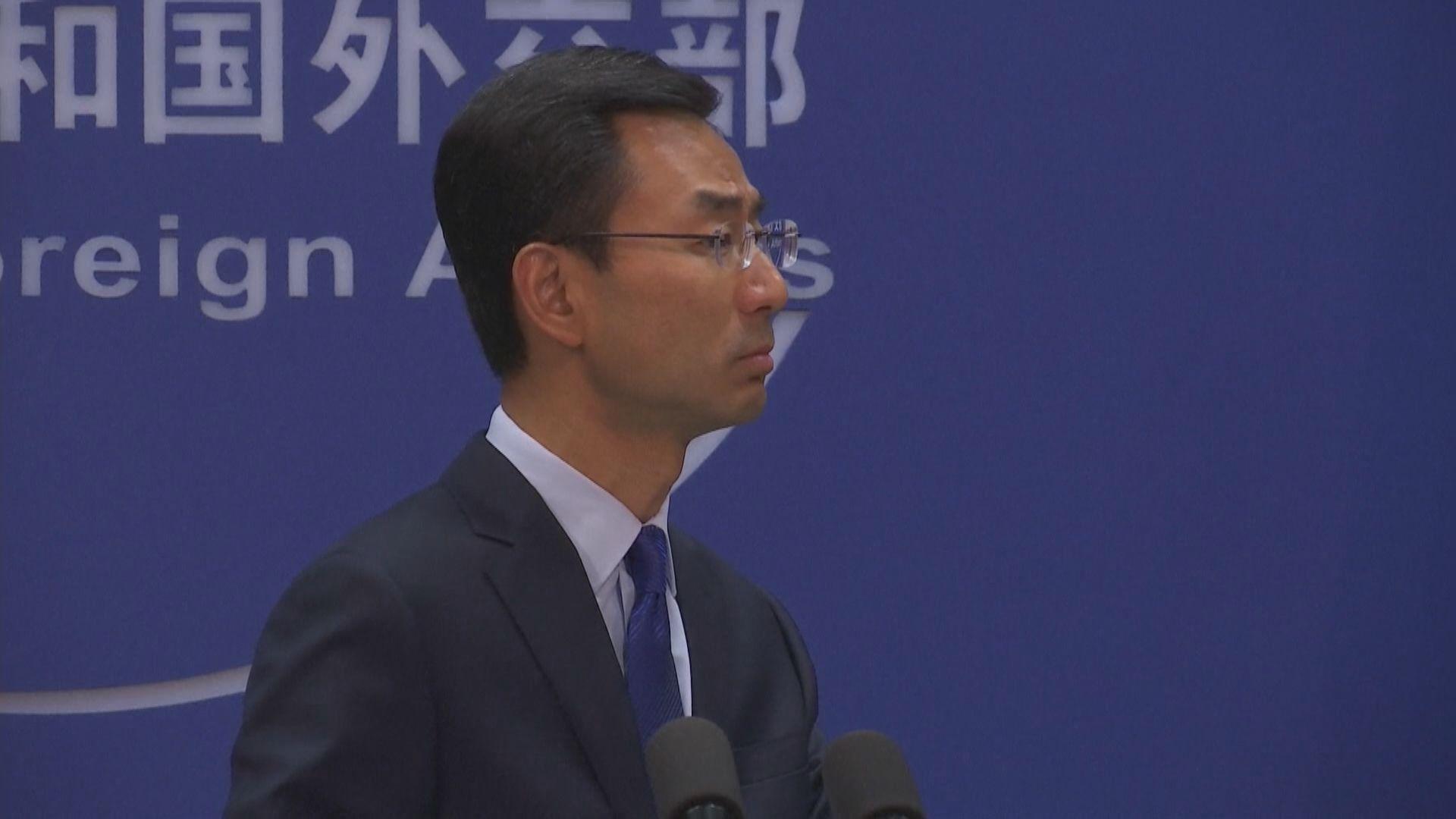 外交部否認中央出動維穩力量到香港