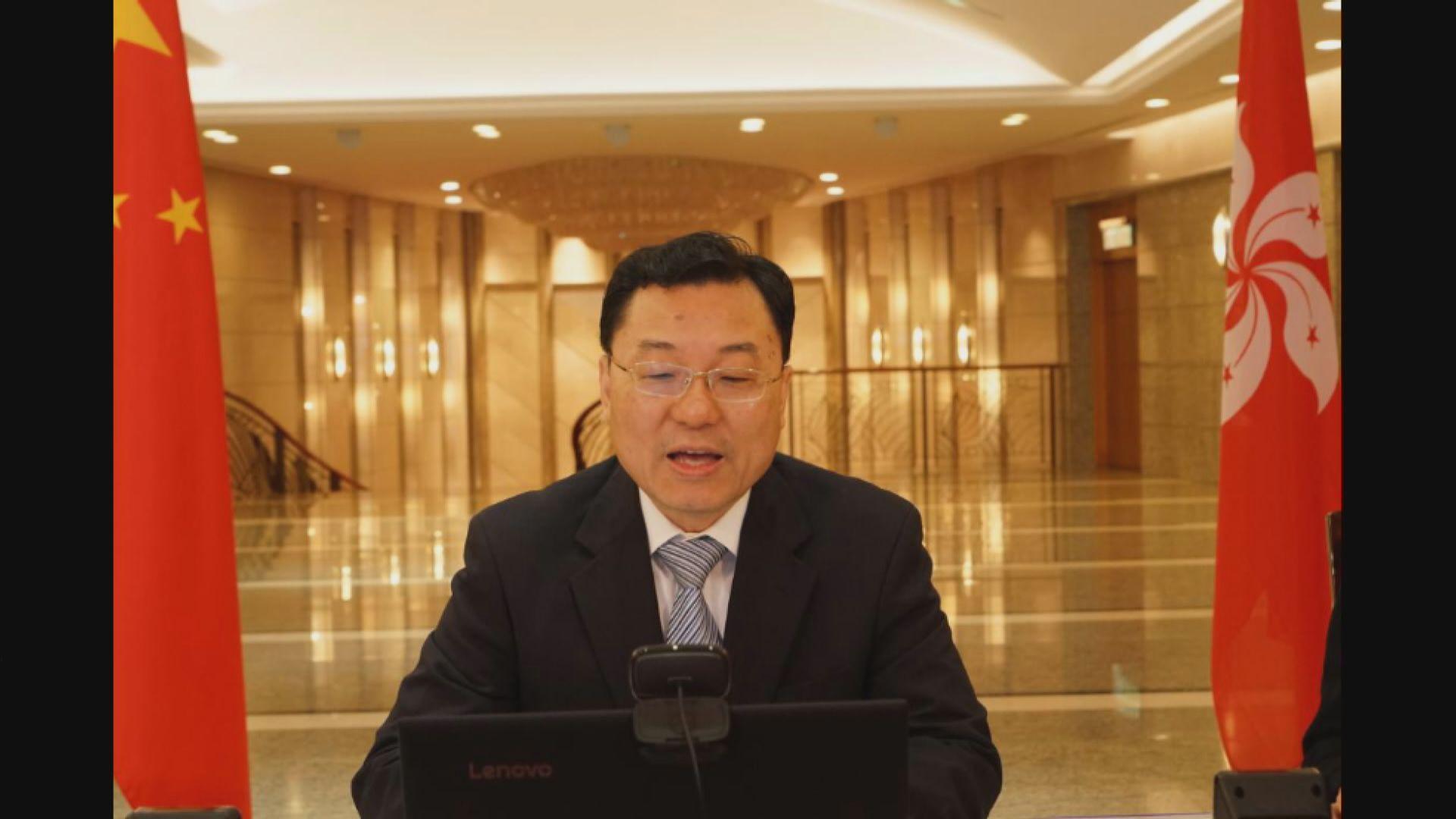 外交部特派員批個別國家政客及媒體抹黑中國抗疫努力