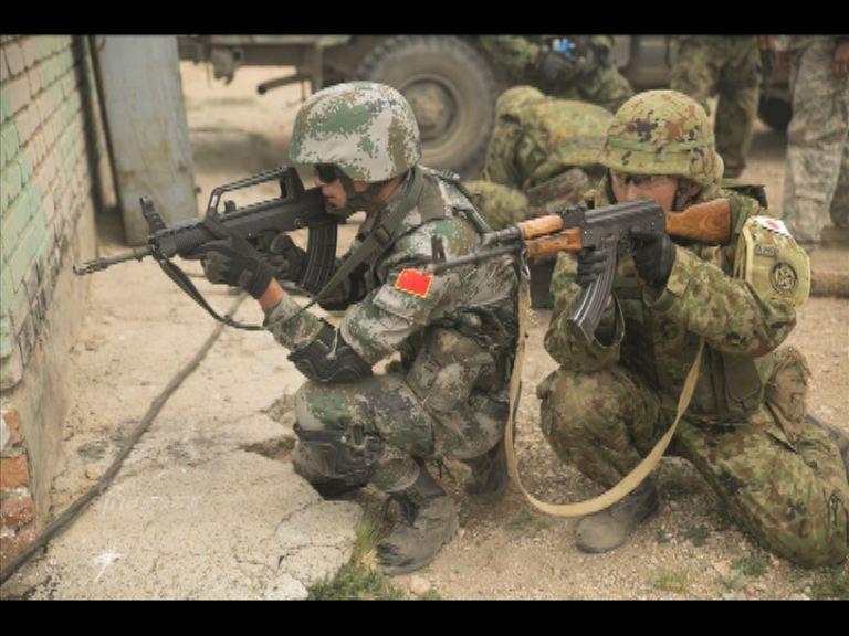 解放軍與自衛隊同場現身蒙古軍演