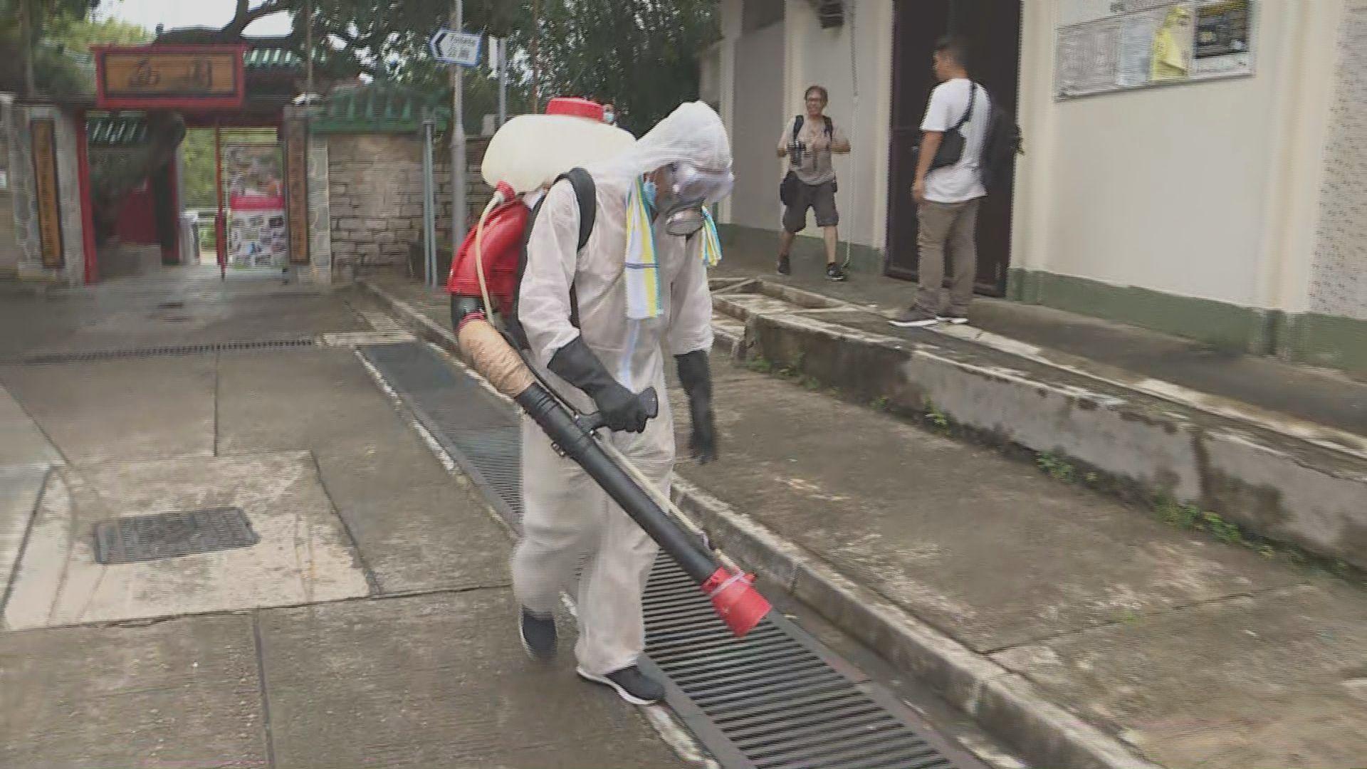 有長洲居民批評政府滅蚊力度不足
