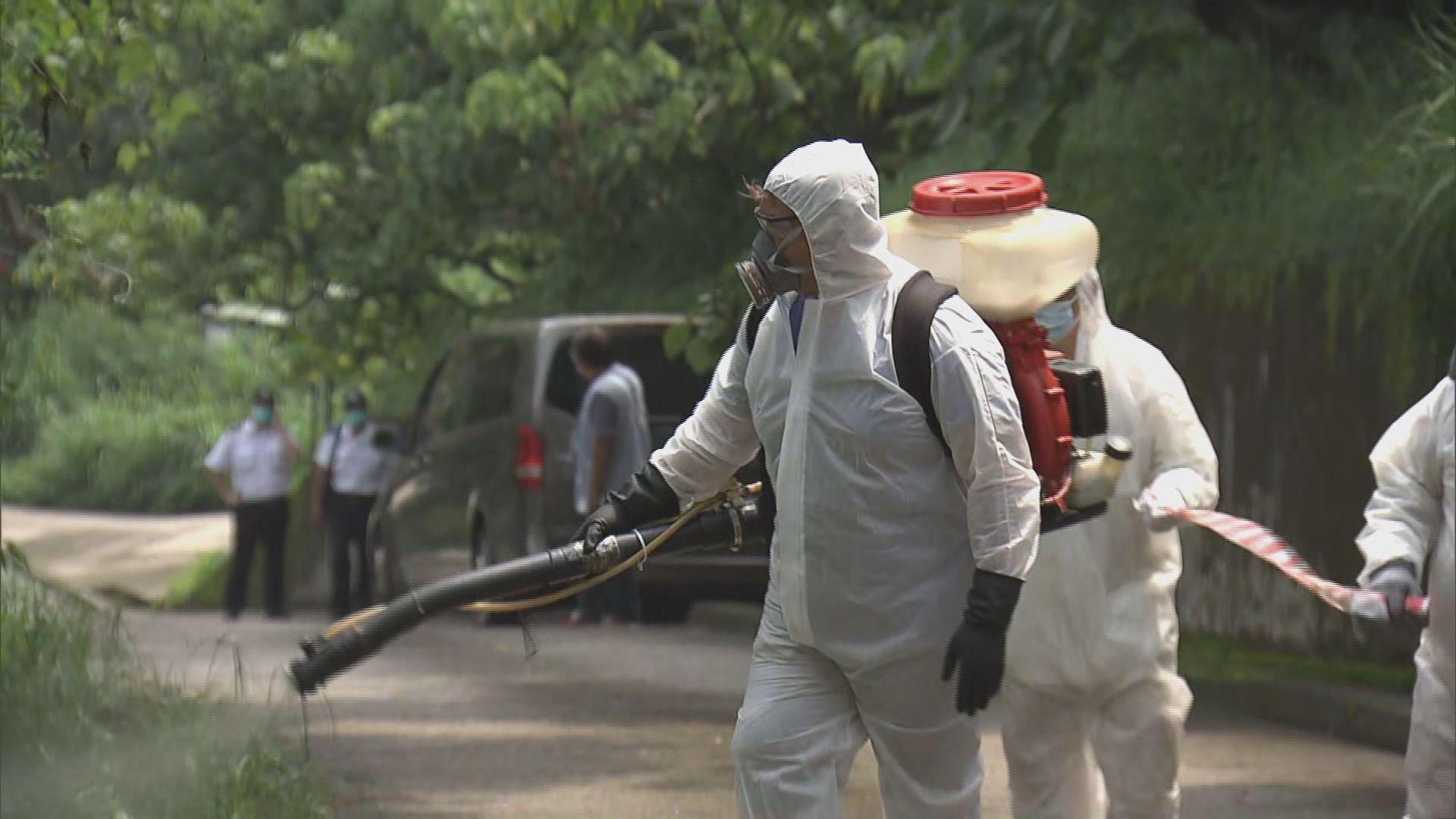 食環署到西貢滅蚊