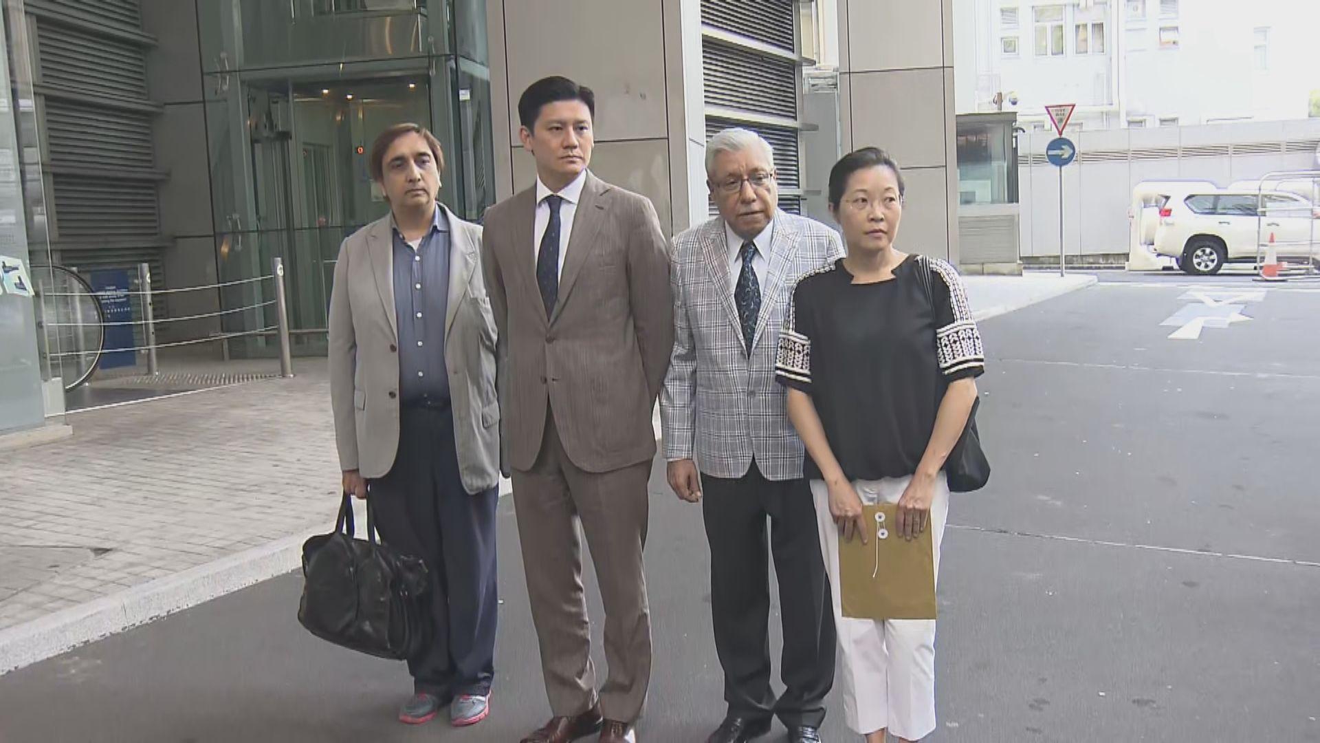 譚文豪等人投訴警方水炮車濫射催淚水