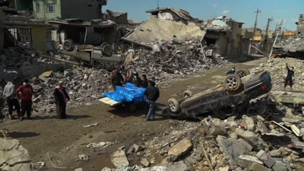 美軍空襲摩蘇爾疑大量平民死亡