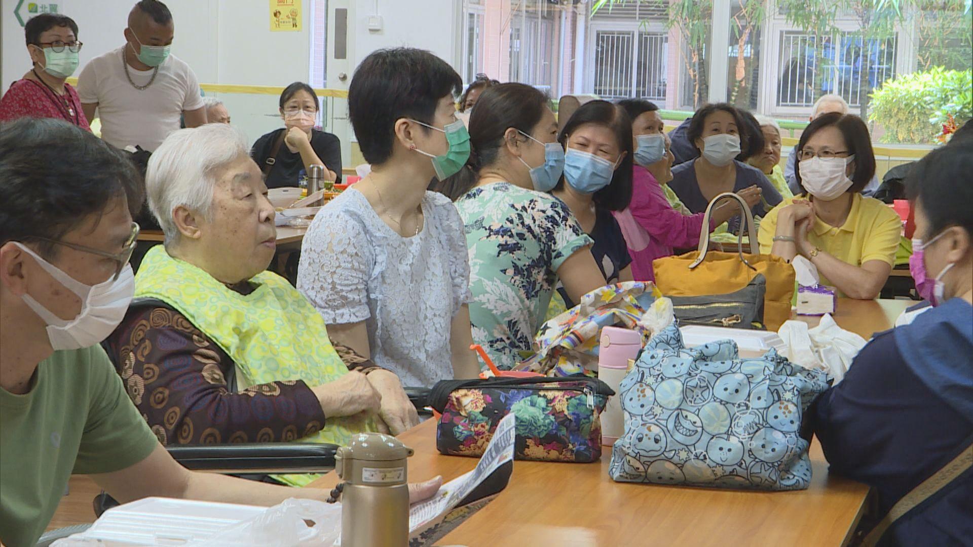 安老院趁母親節放寬探訪安排 近二百人報名