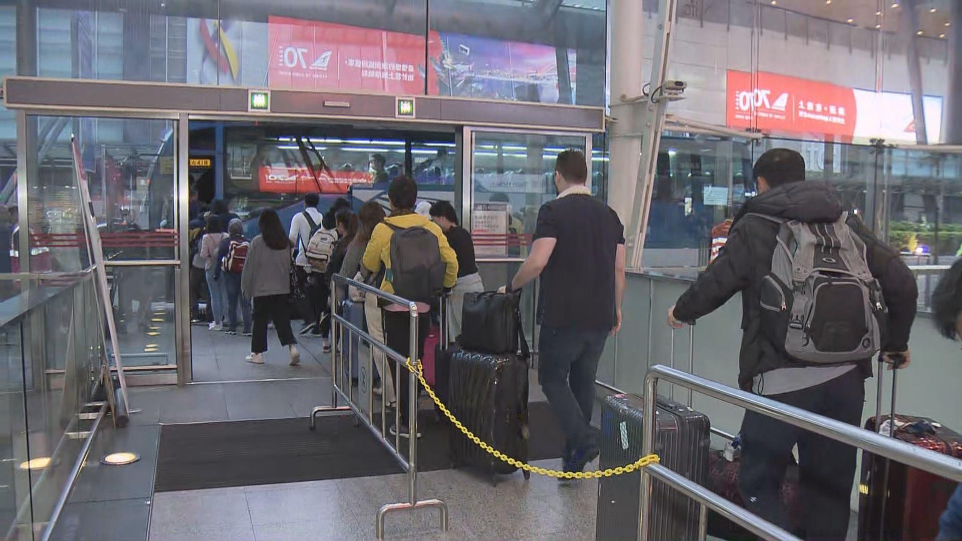 欣澳站架空電纜故障 港鐵安排免費接駁巴士