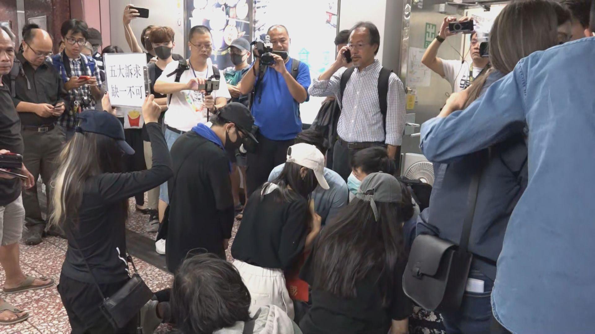 張超雄:港鐵指不會刪除831太子站內片段