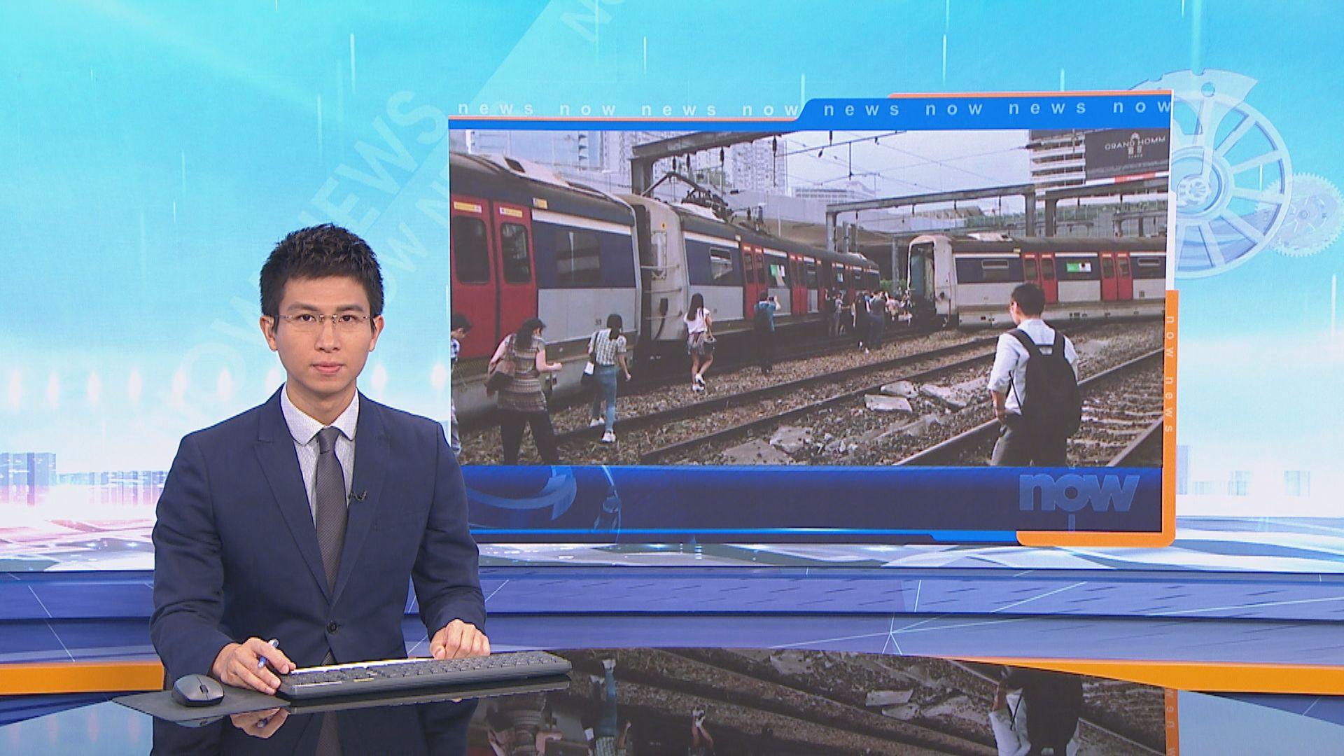 【紅磡出軌】陳帆:不排除任何列車出軌可能性