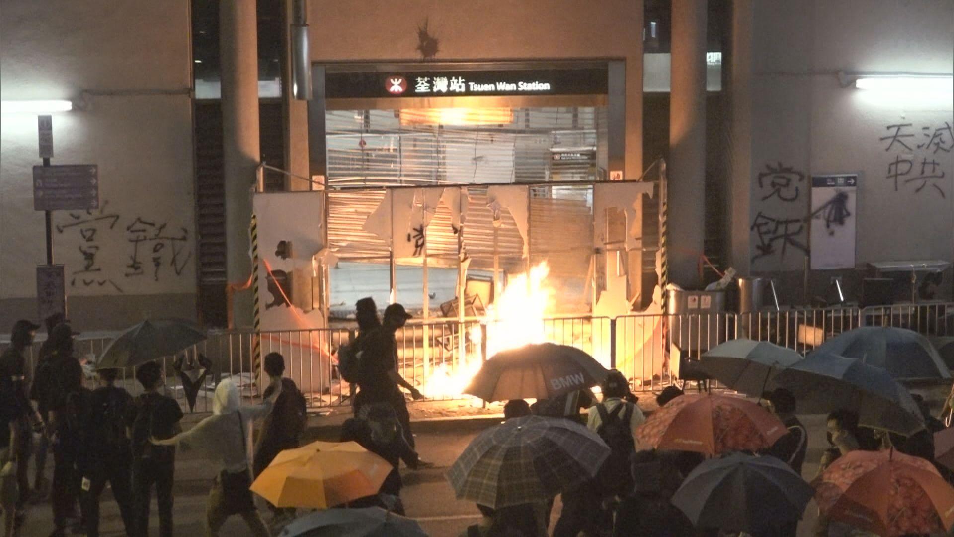 陳帆:市民不應透過破壞公共設施來發洩不滿