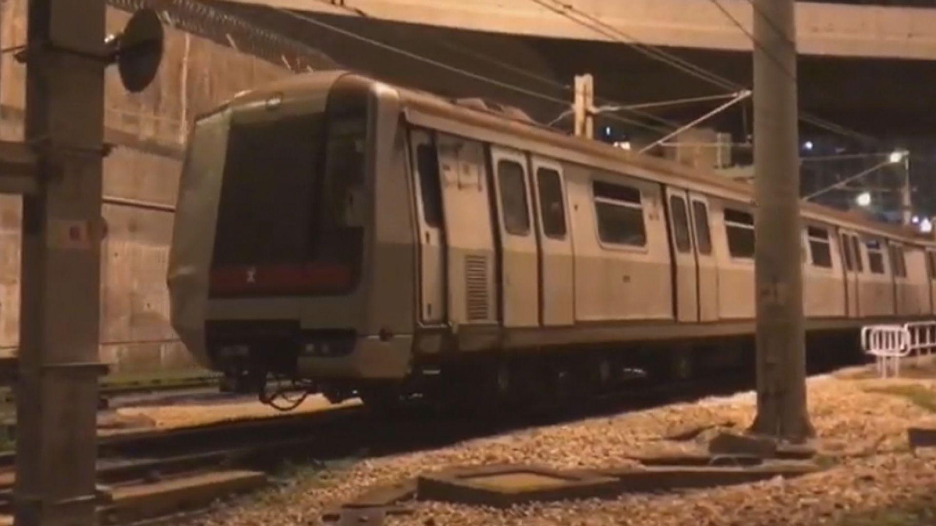 港鐵已收到信號系統承建商初步調查報告