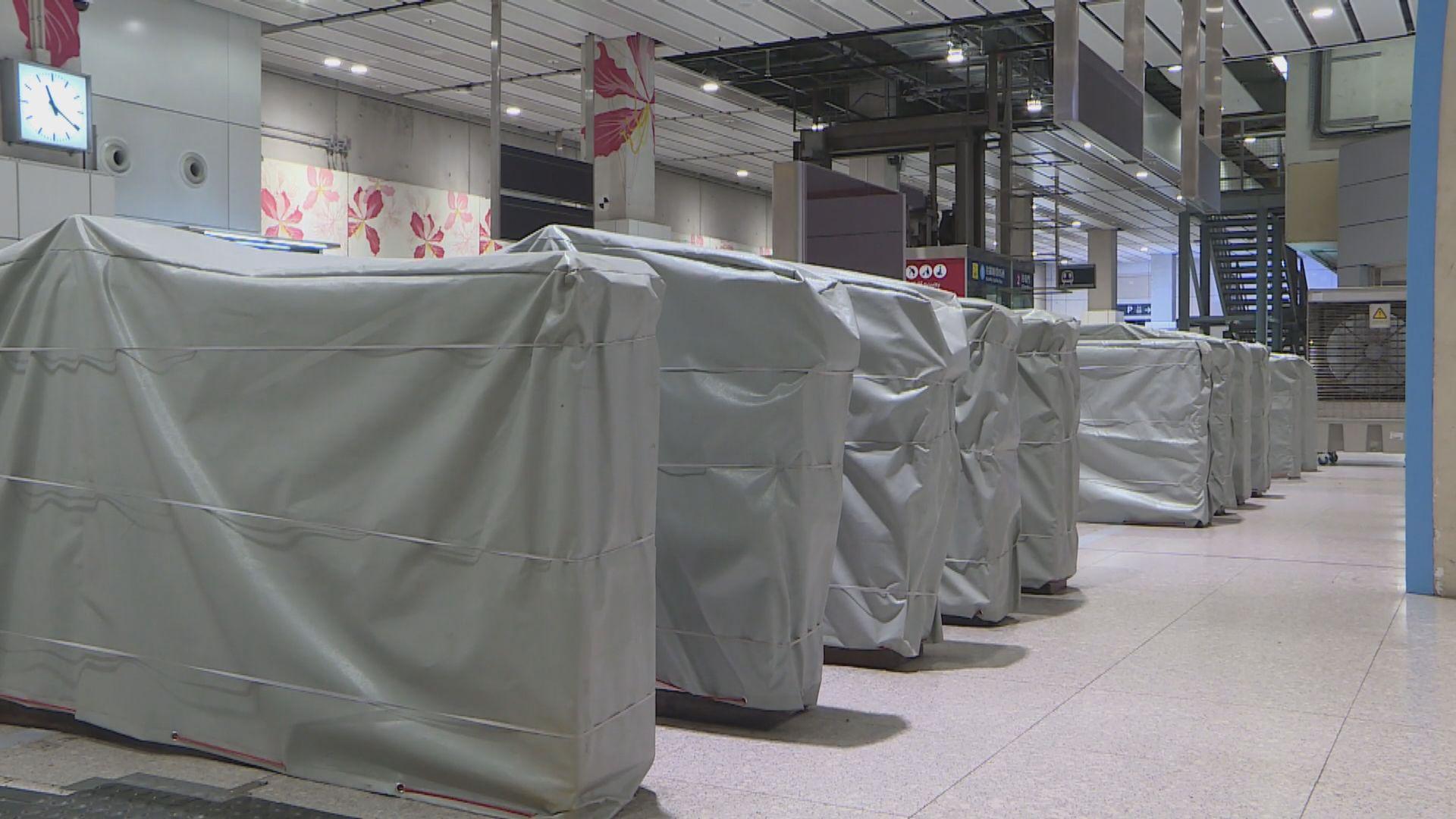 配合屯馬綫通車 紅磡站下月20日起轉用新月台