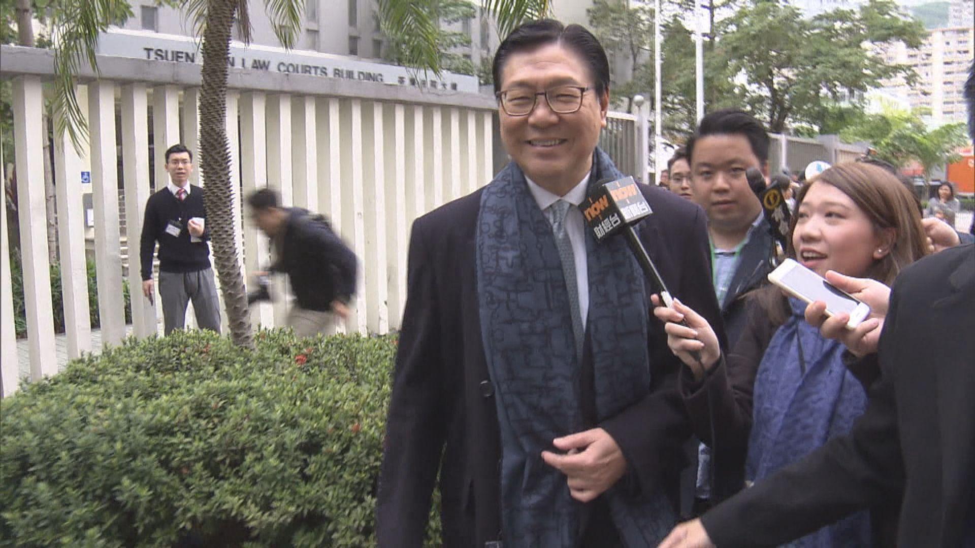 馬時亨:政府要求港鐵五高層離職
