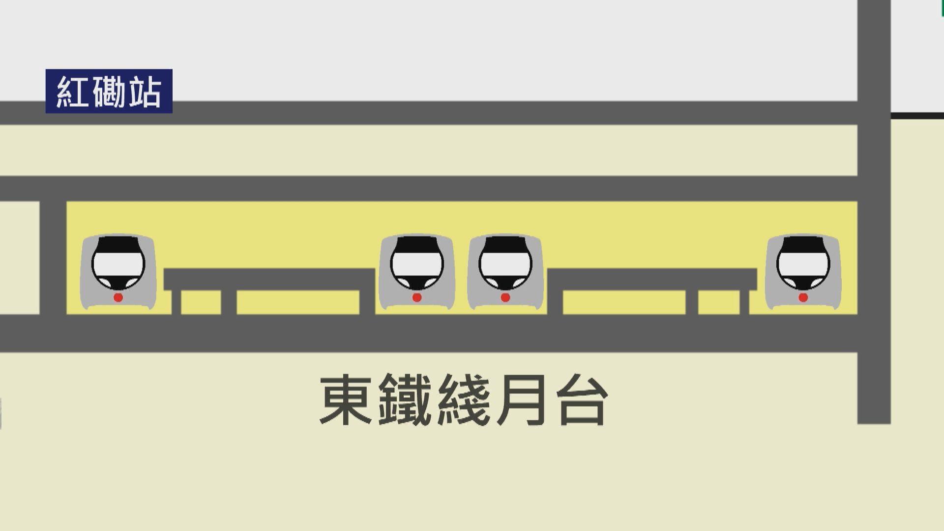 西鐵綫紅磡站新月台20日啟用 港鐵:有足夠空間應付人流