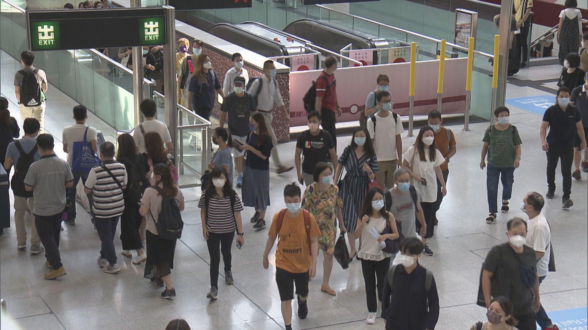 紅磡站屯馬綫新月台啟用後首個工作日 有乘客感混亂