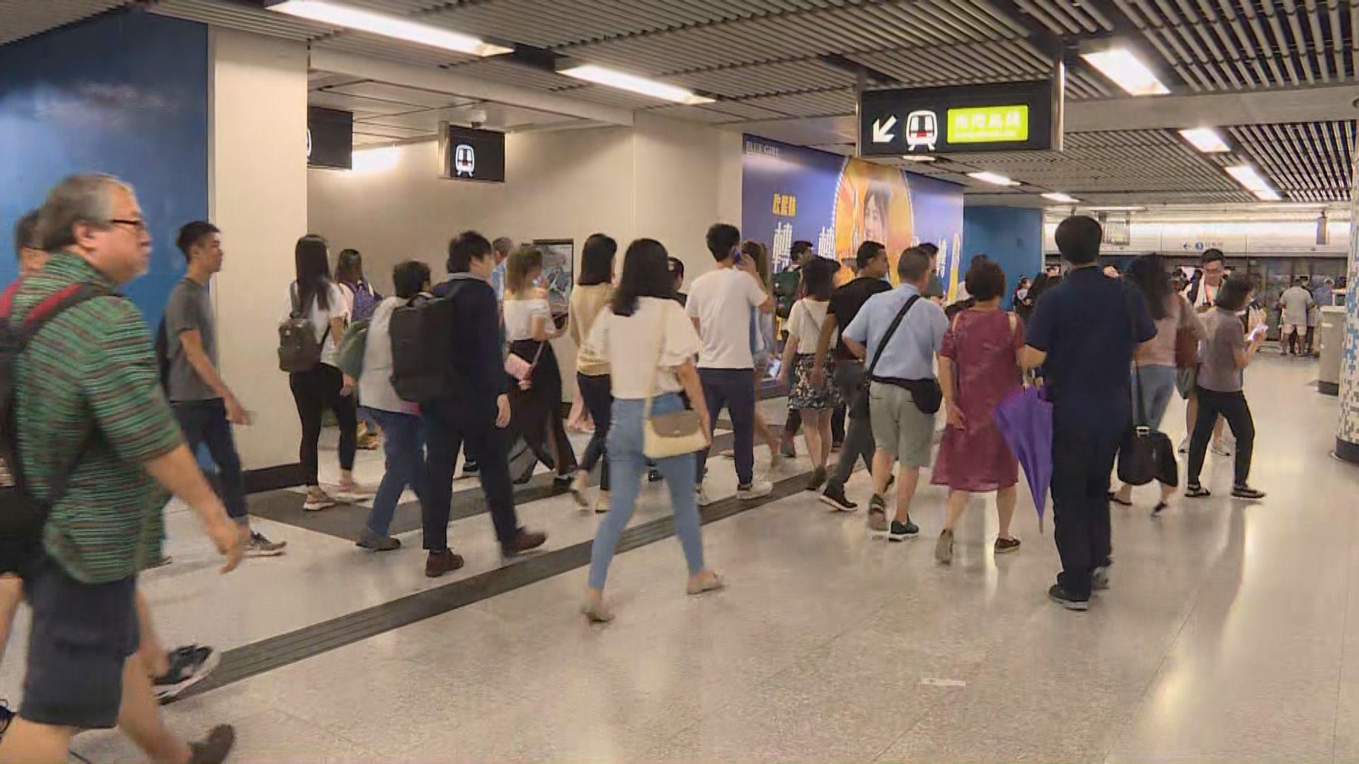 不合作運動 銅鑼灣來往太古站服務一度暫停