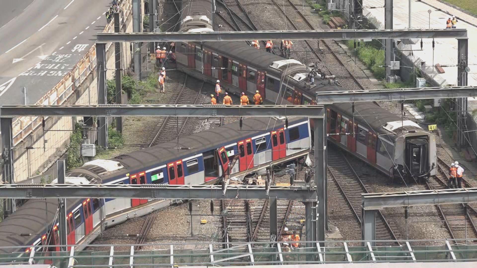 港鐵邀請三名本地及海外專家調查列車紅磡站出軌