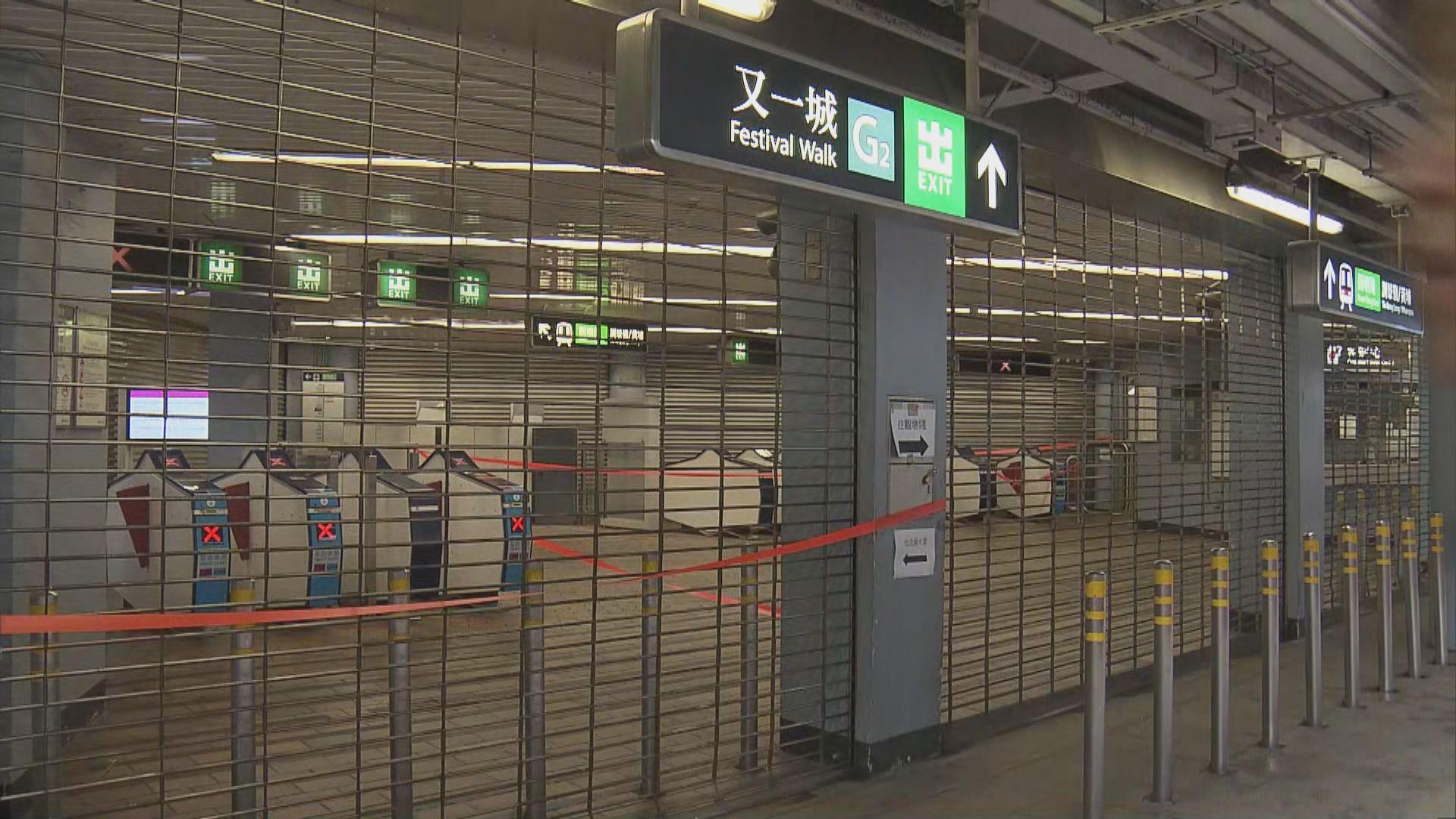 港鐵所有綫路正常 輕鐵部分路綫改道
