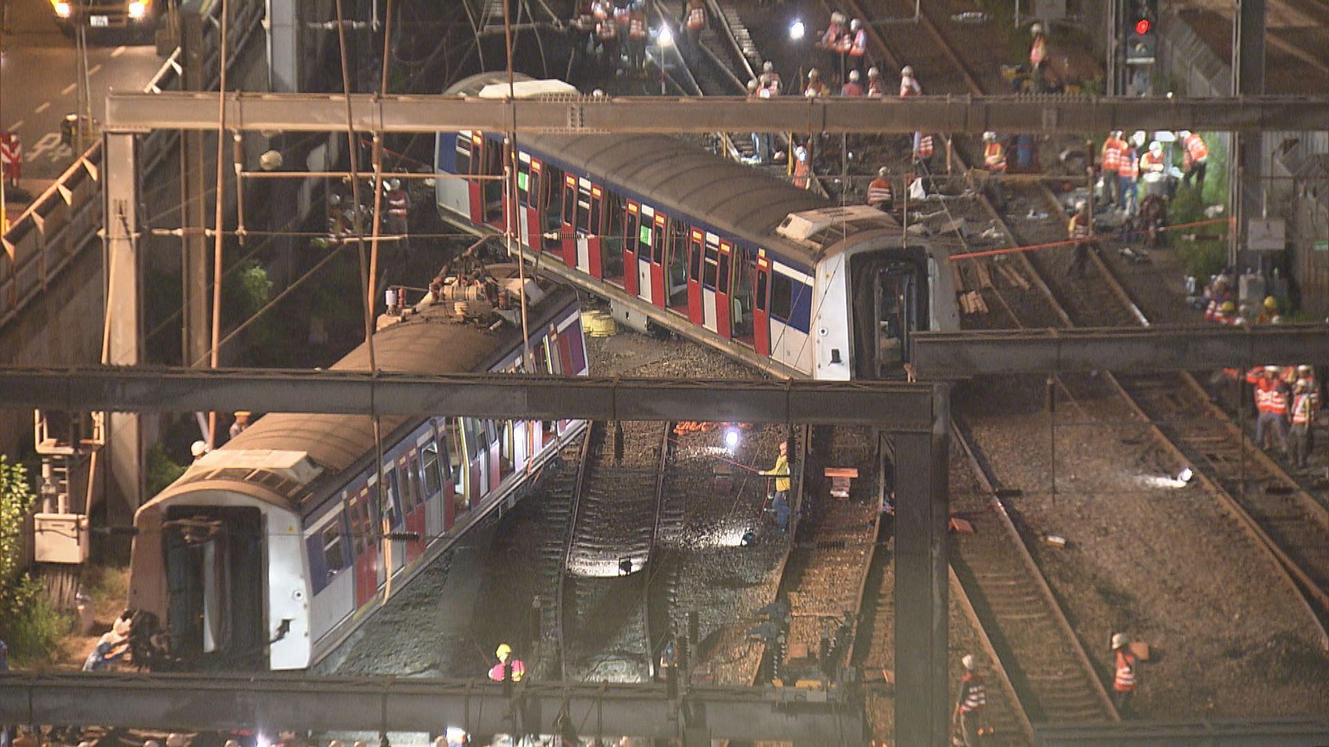 港鐵東鐵綫紅磡站至旺角東站服務暫停
